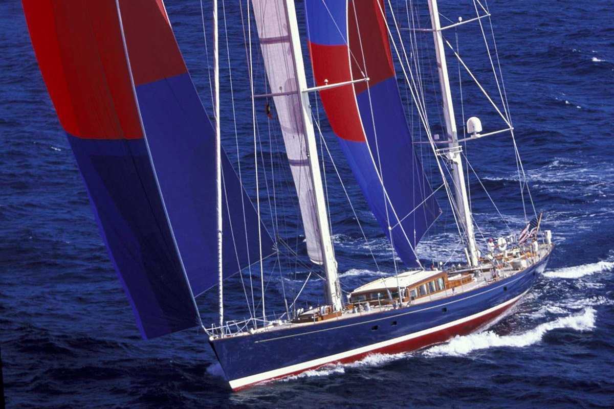 Sailing Yacht Rebecca - Charles Butt