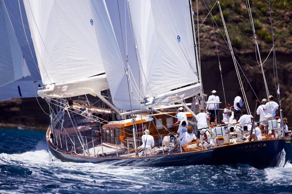 Sailing Yacht Rebecca - Charles Butt