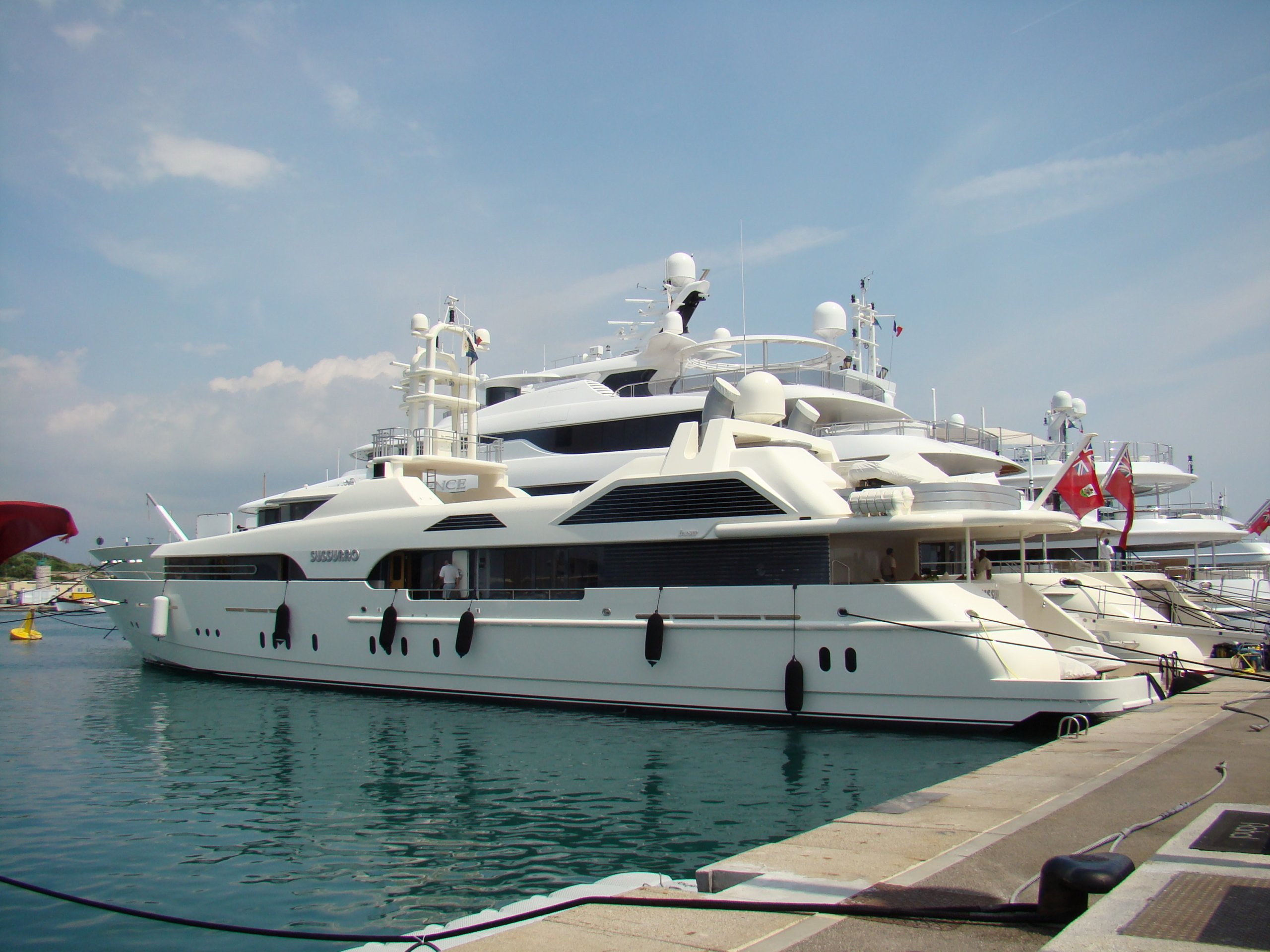 yacht Sussurro - Feadship - 1998