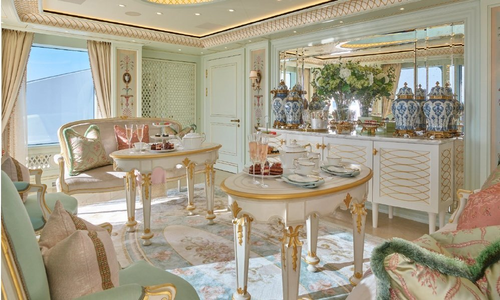 yacht Lady Gulya (Tis) - interior