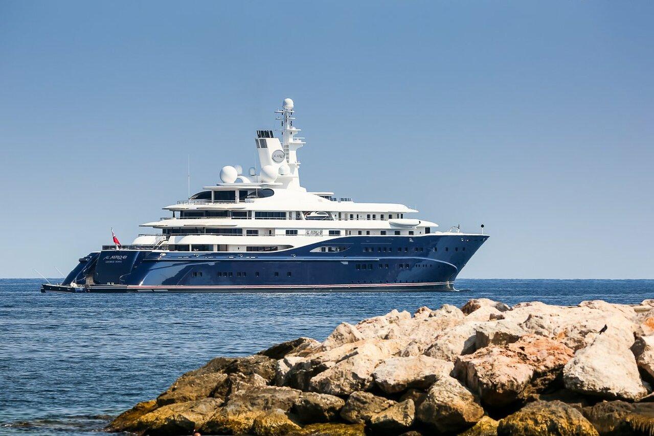 yacht Al Mirqab  – 133m – Kusch Yachts