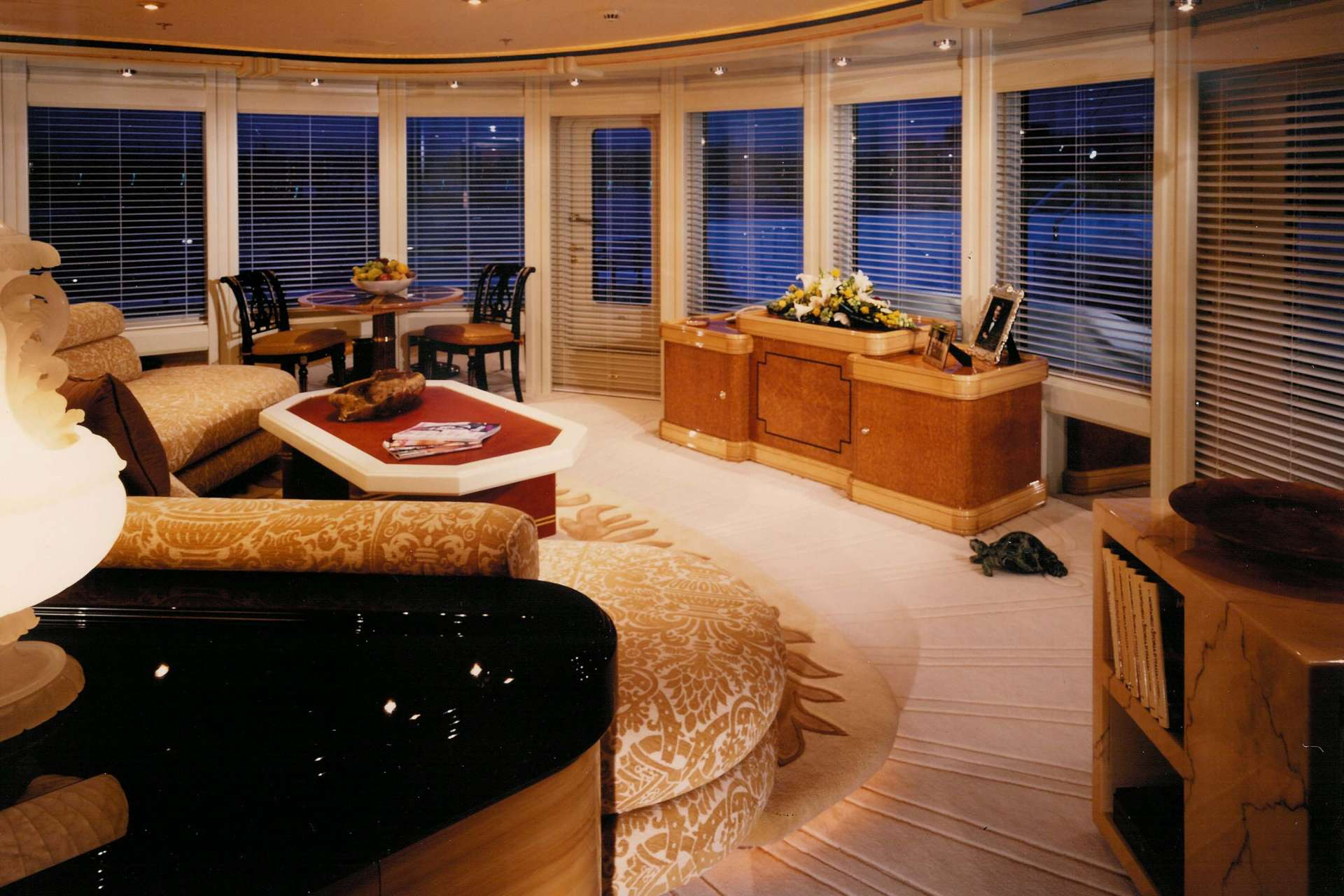 Donald Starkey yacht interior design