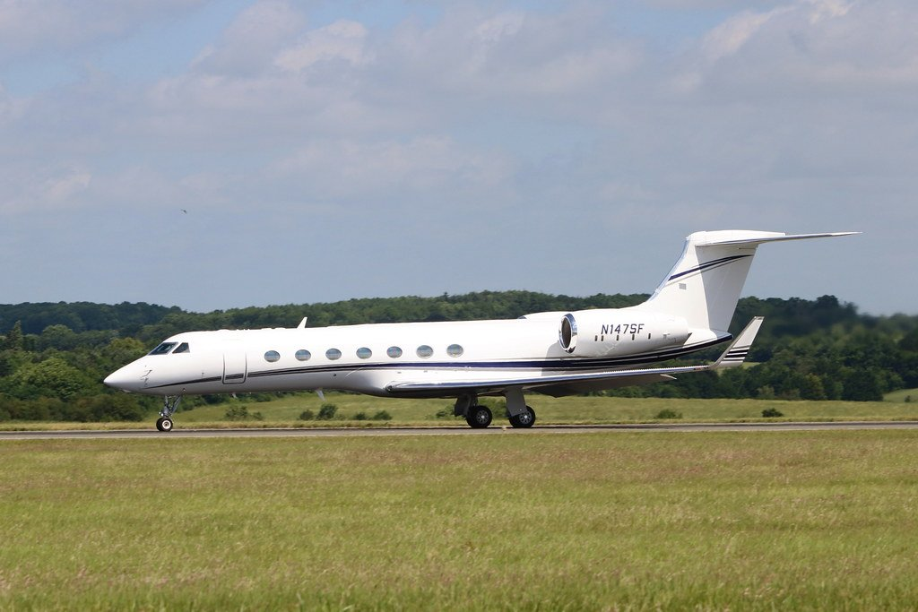 N147SF G550 Sands Constellation