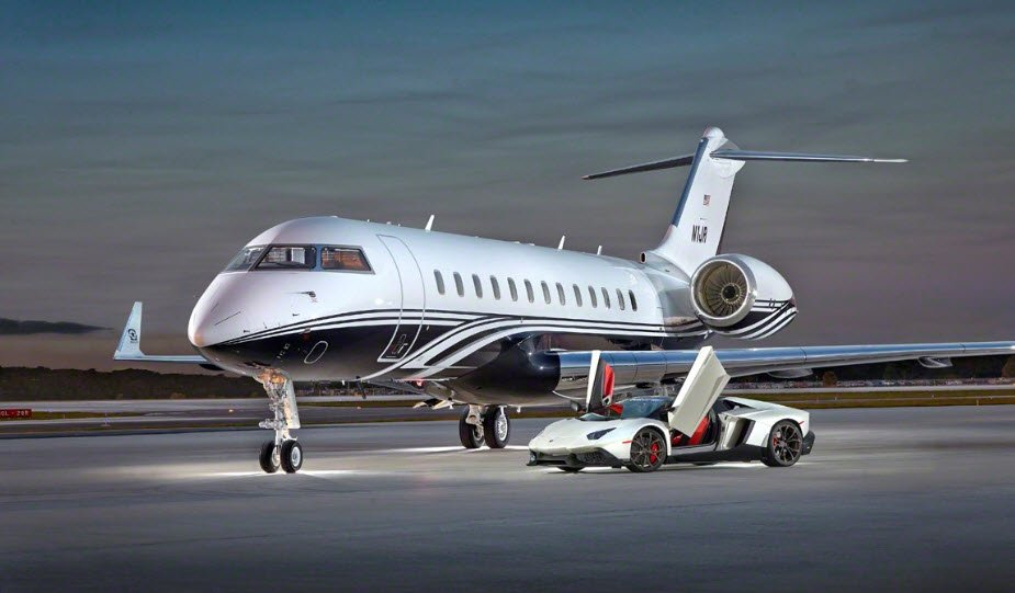 N1JR Global 6000 John Rosatti
