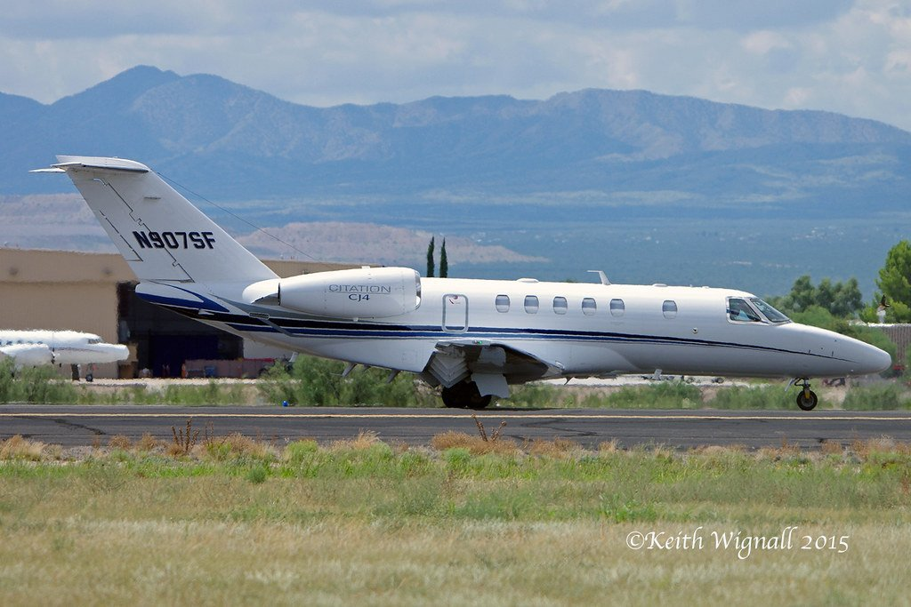 N907SF Cessna Constellation Brands