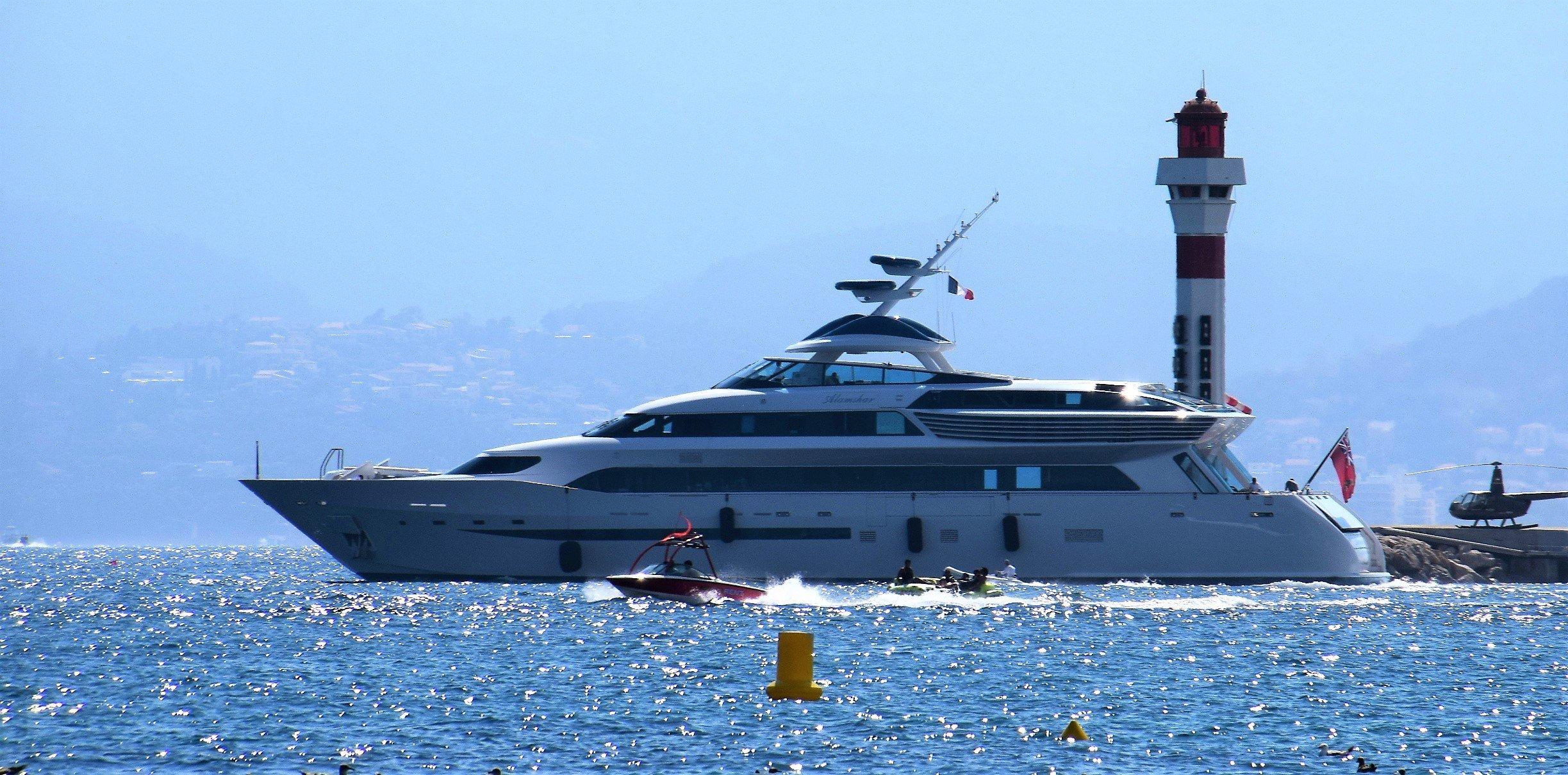 yacht Alamshar - Aga Khan