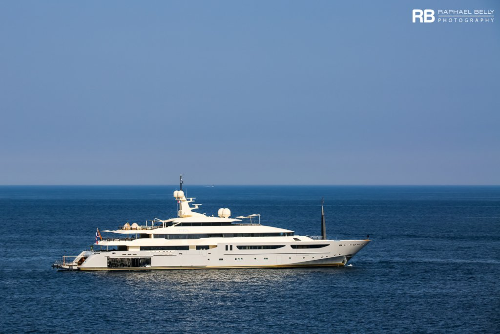 Azteca yacht - 72m - CRN