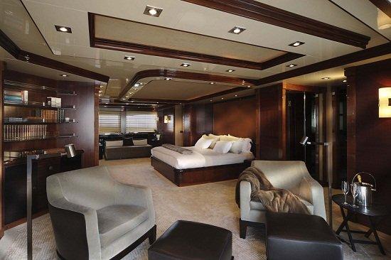 Azteca yacht interior