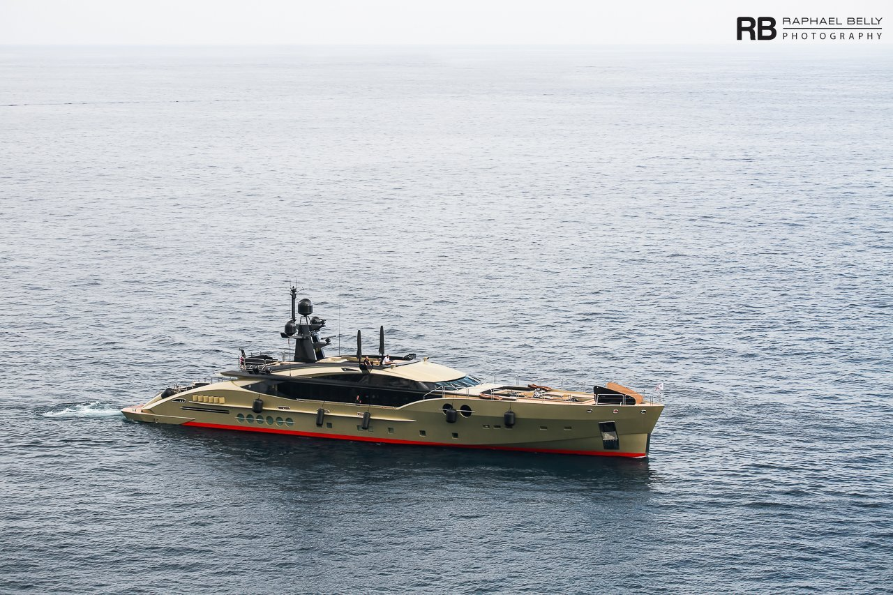 yacht DB9 (PJ 170) - 52m - Palmer Johnson