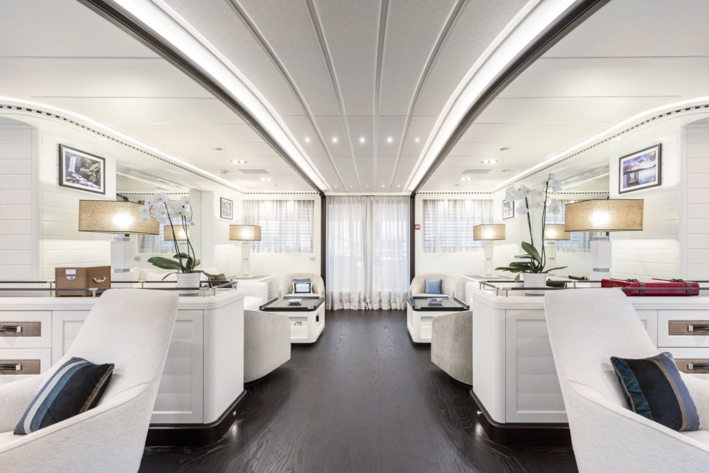yacht Forever One interior