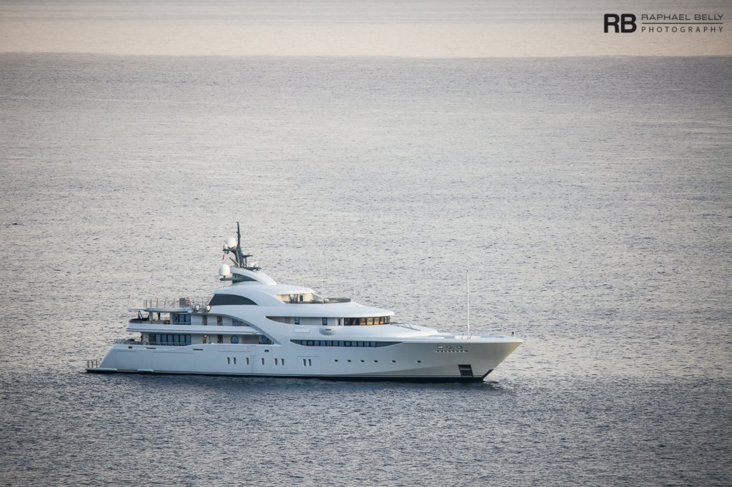 Graceful yacht