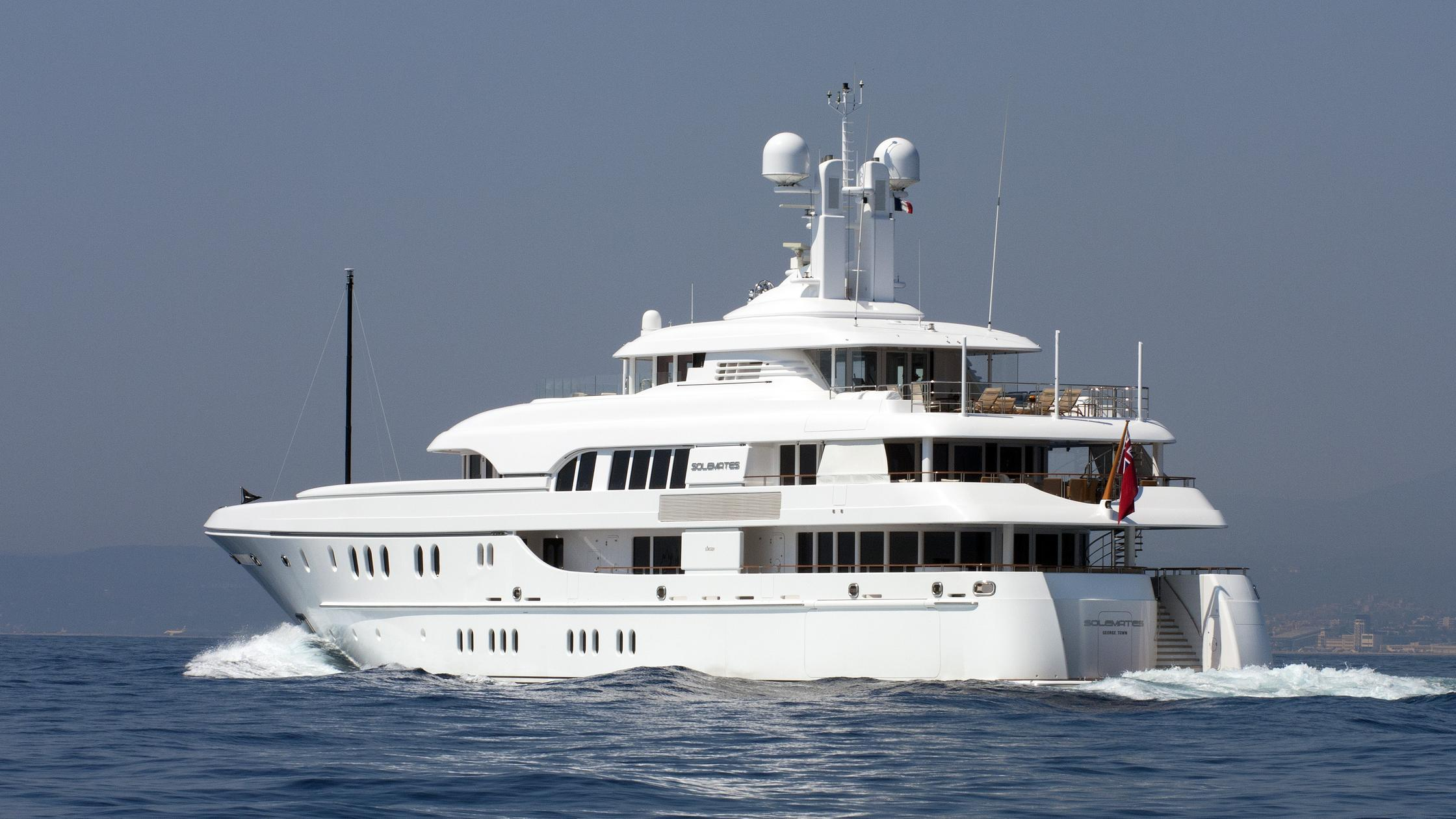 Feadship yacht Huntress