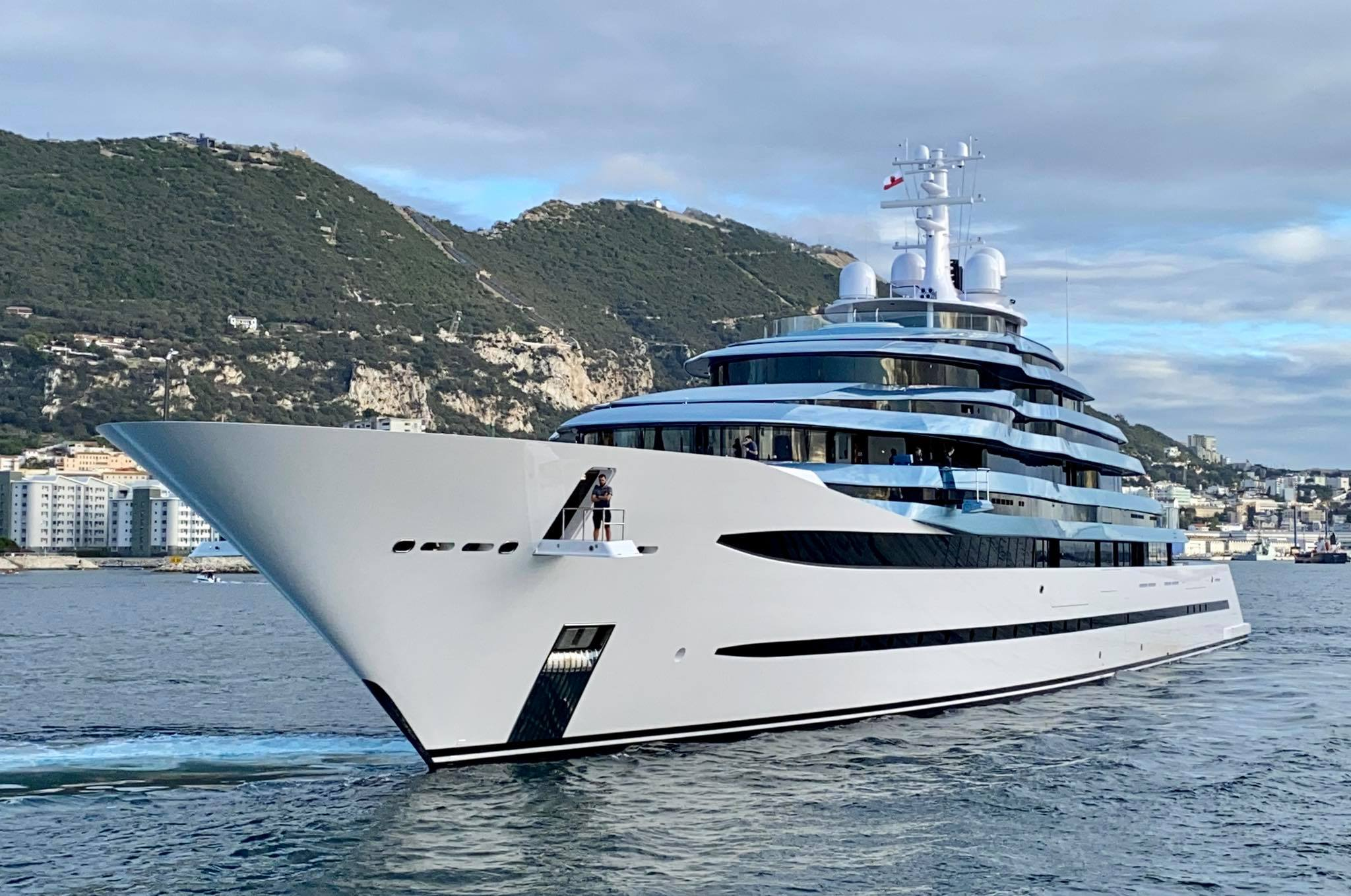 yacht KAOS - 110m - Oceanco