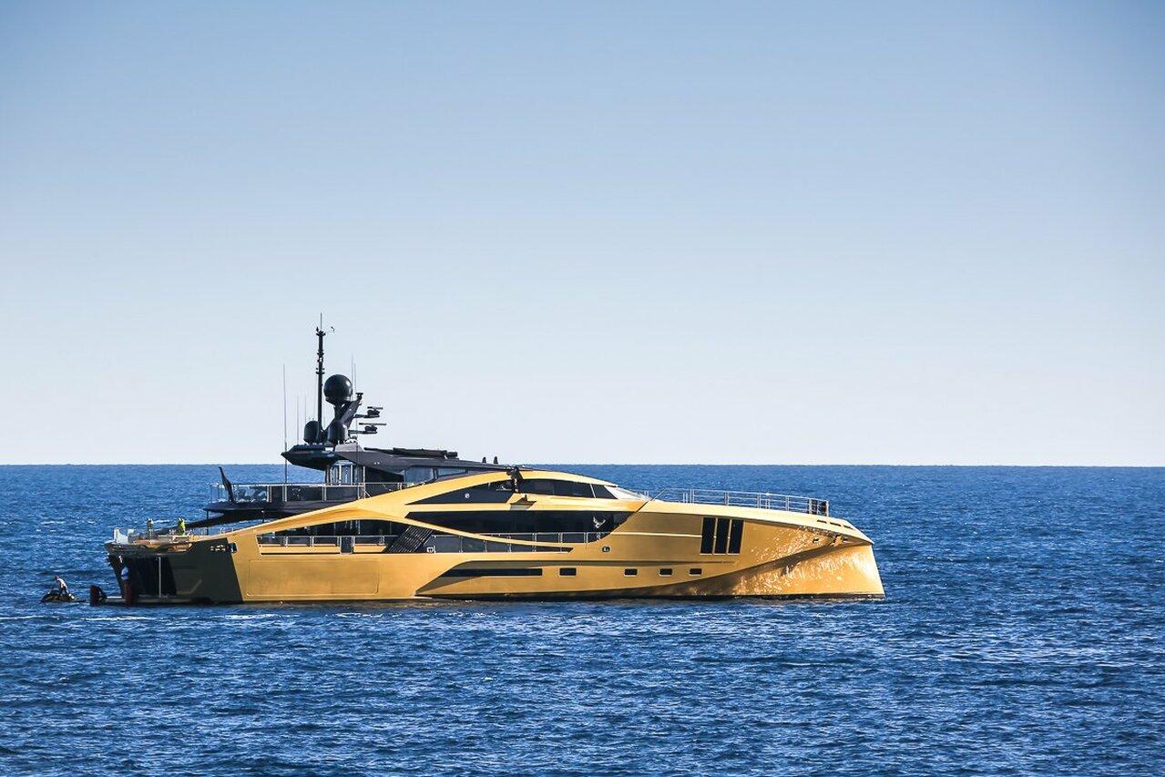Khalilah yacht - 49m - Palmer Johnson