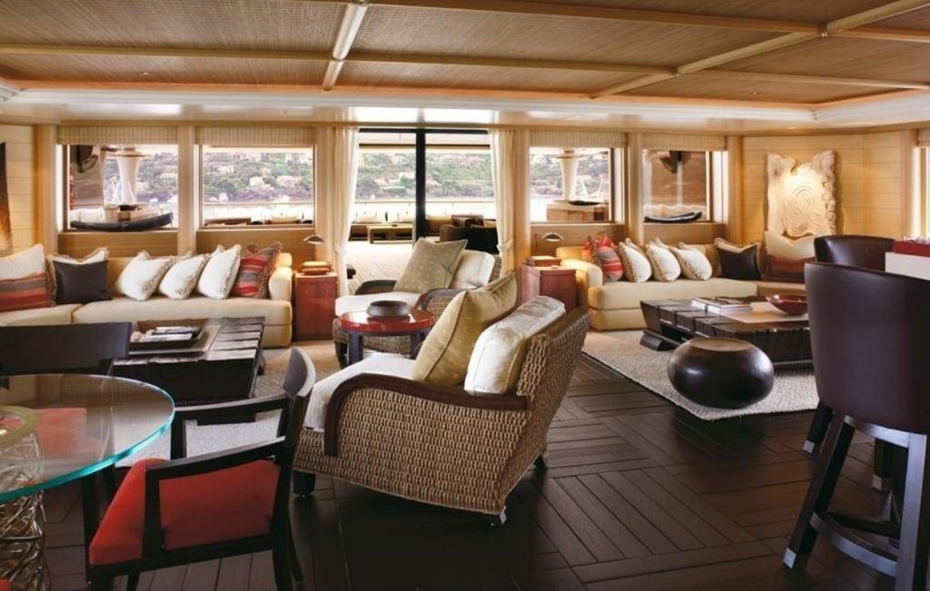 yacht Kogo interior
