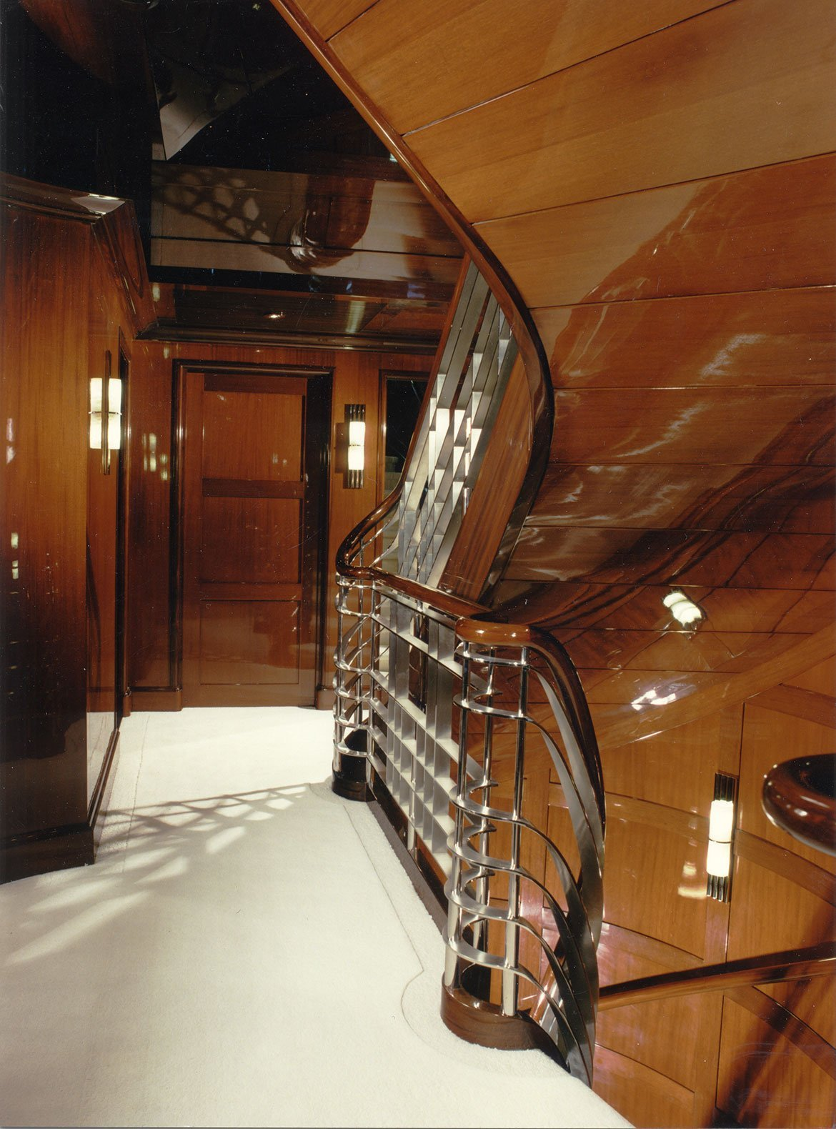 yacht Limitless interior