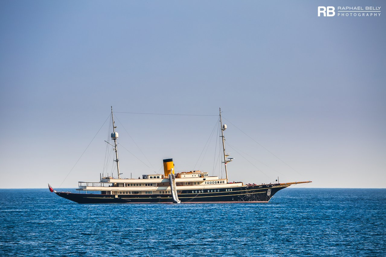 yacht Nero – 90m – Corsair - Denis O'Brien