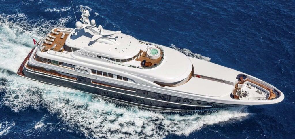 Lurssen yacht Podium