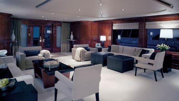 yacht Privacy interior