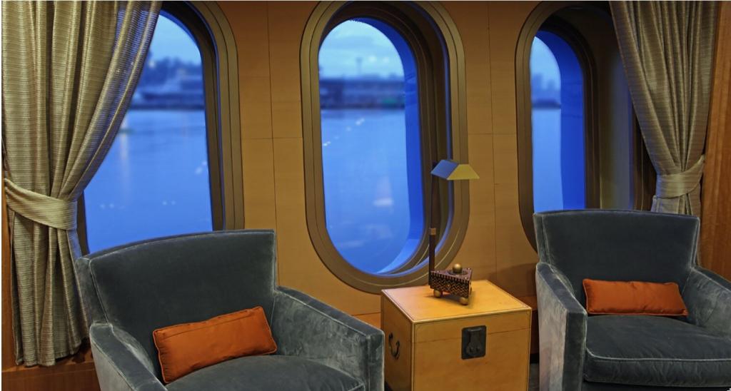 yacht Silver Shalis interior