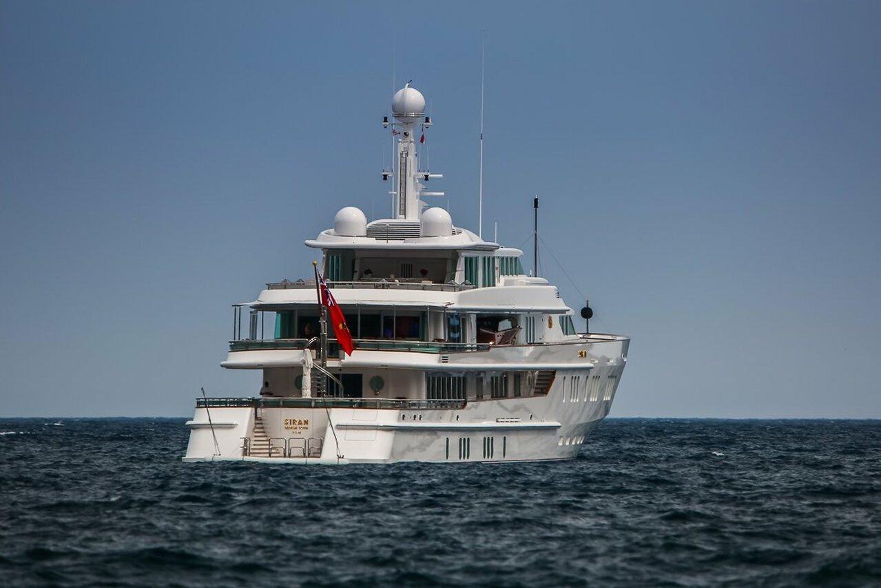 yacht Siran