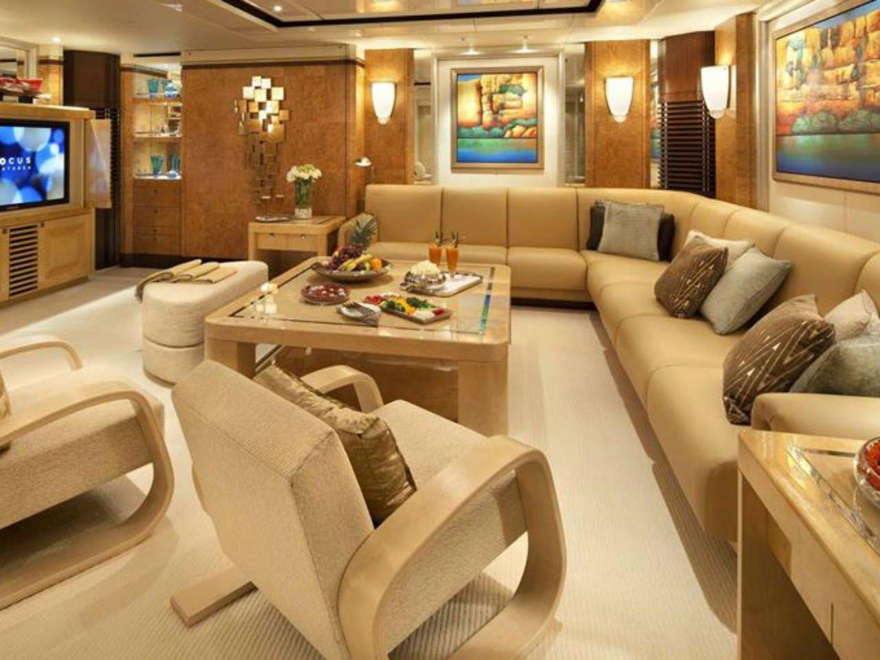 yacht Sycara-V interior