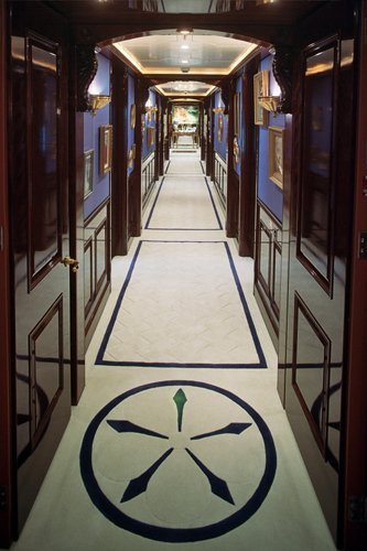 yacht White Rose of Drachs interior