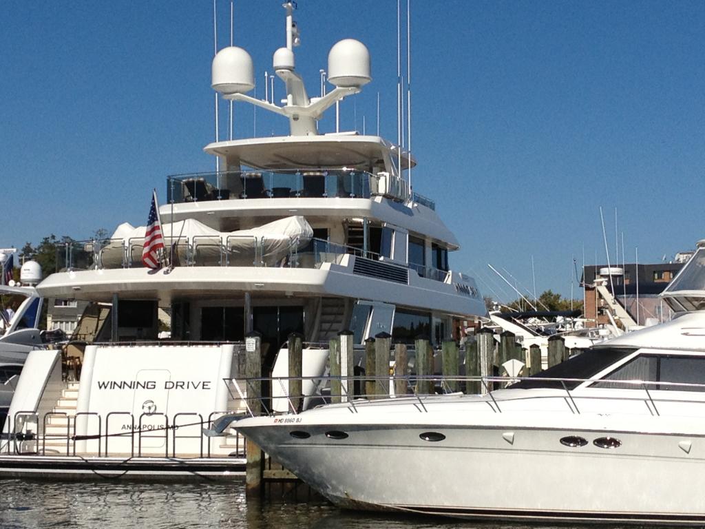 Winning Drive yacht