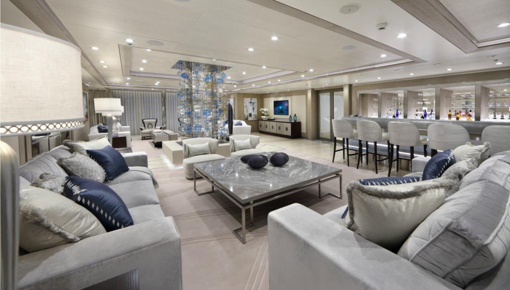 yacht Andromeda interior