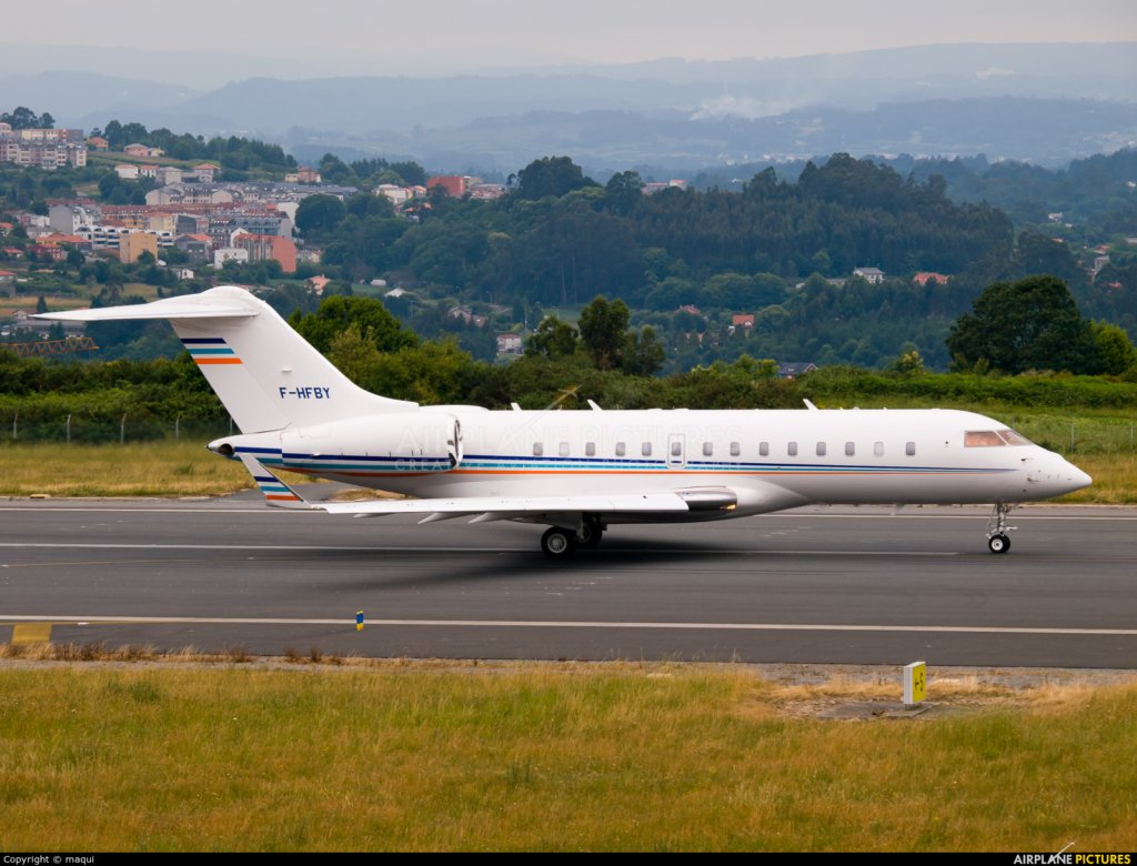 F-HFBY - Bombardier G5000 - Martin Bouygues
