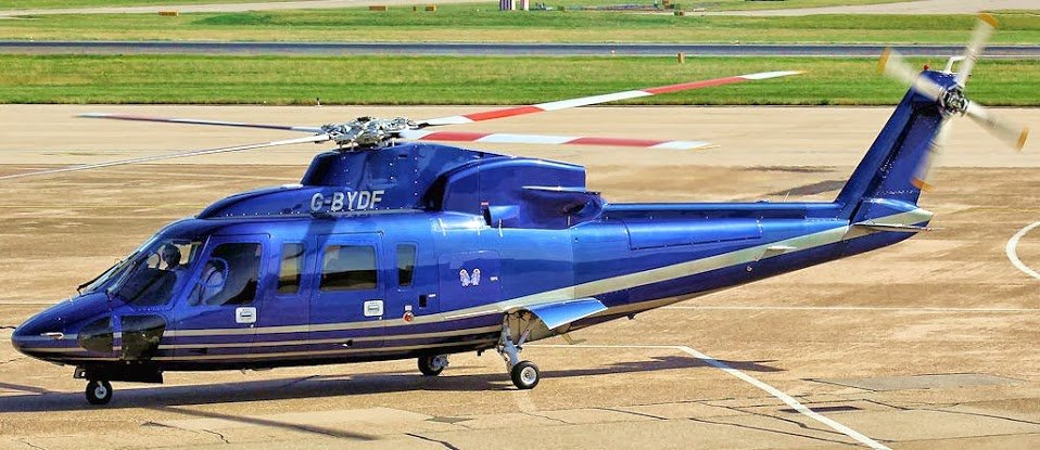 G-BYDF Sikorsky S76 David and Frederick Barclay