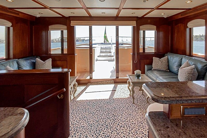 Lady Bahi yacht interior
