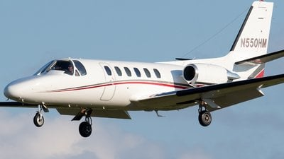 N550HM Cessna Citation Harry Macklowe