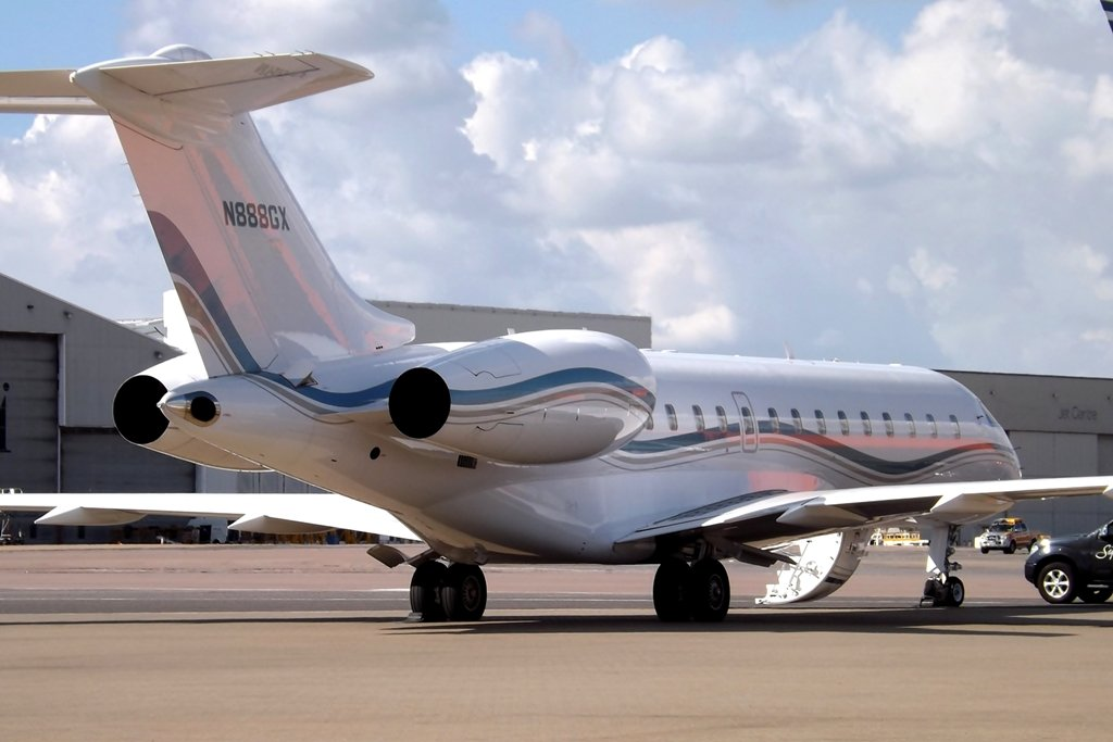 N888GX Bombardier Kerry Stokes private jet