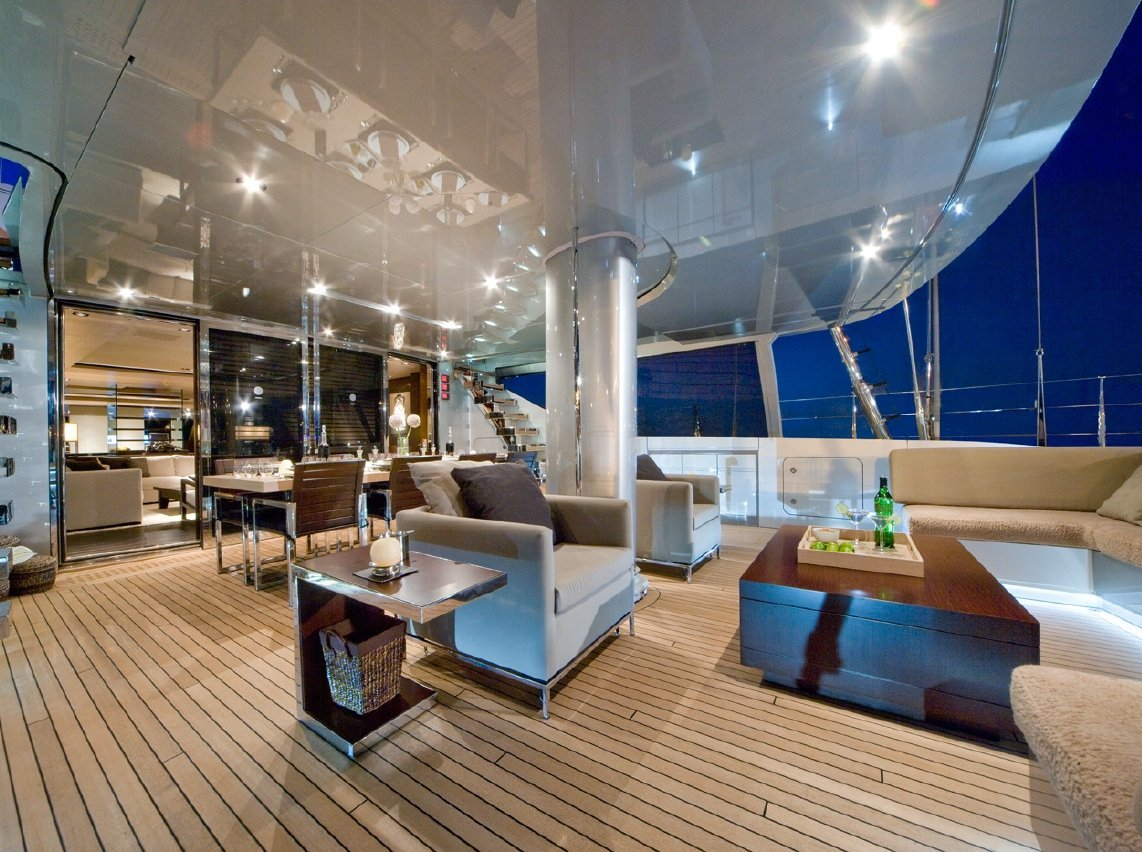 Sailing Yacht Nirvana interior