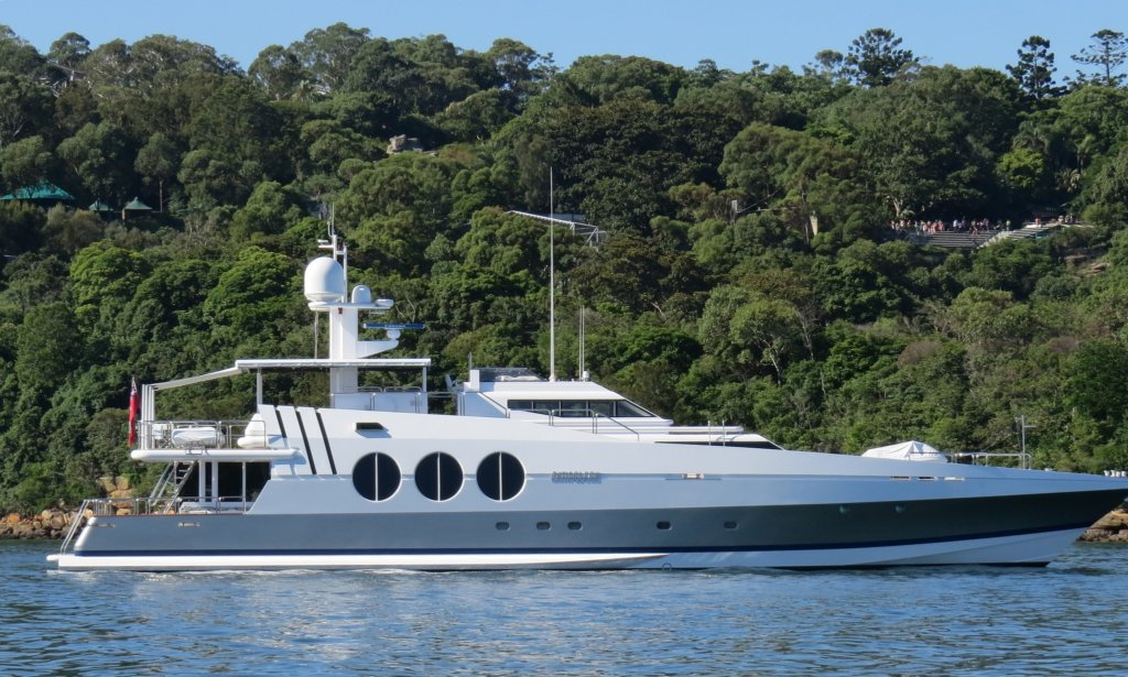 yacht Antipodean