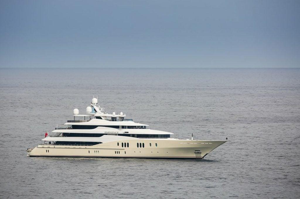 yacht Eminence – 78m – Abeking & Rasmussen