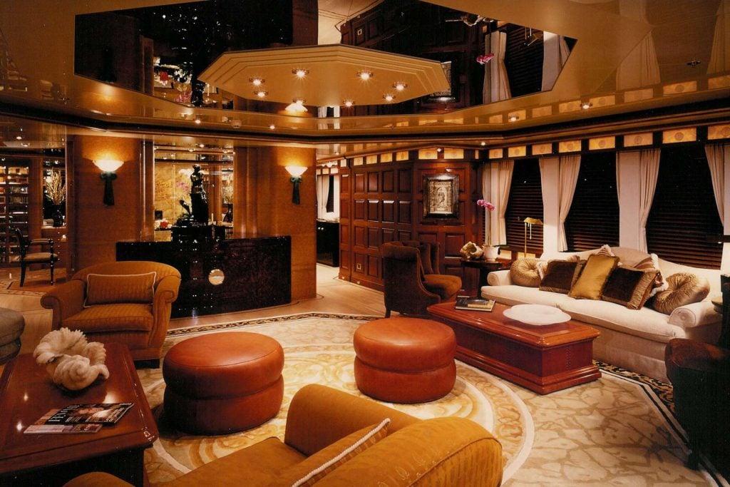 yacht Lady Marina interior