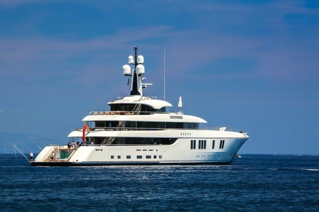 yacht Lunasea (ex: Hasna)
