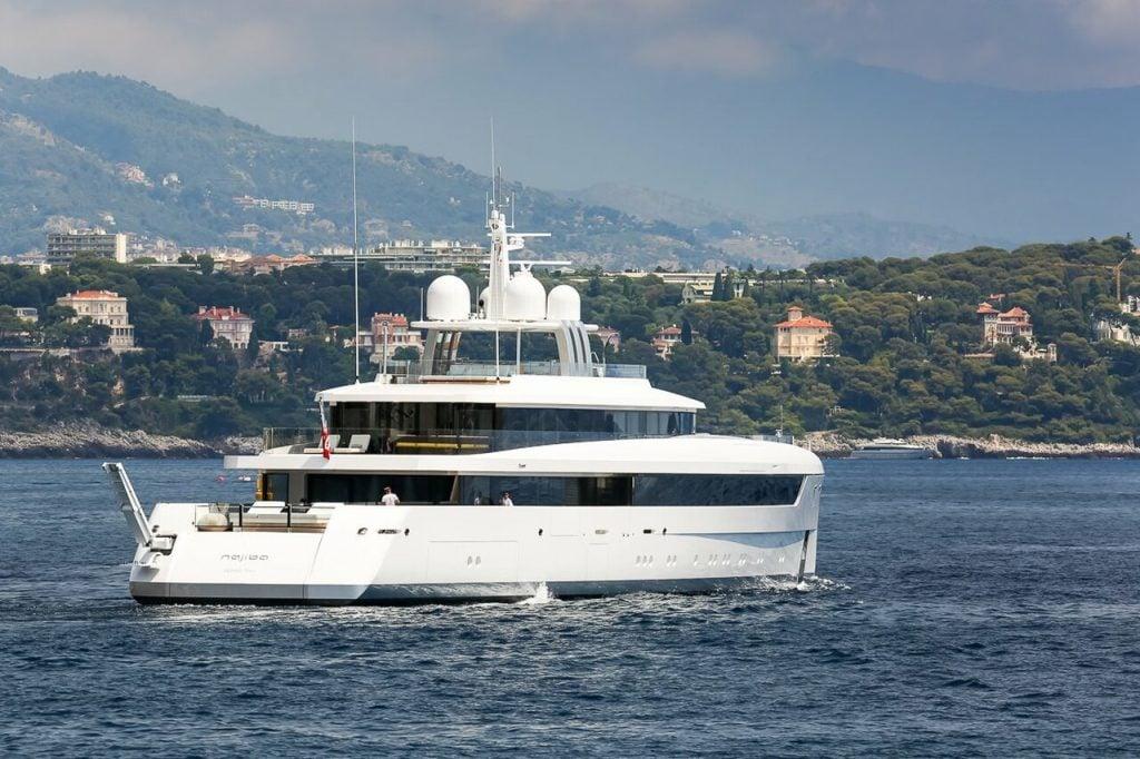 yacht Najiba - 58m - Feadship