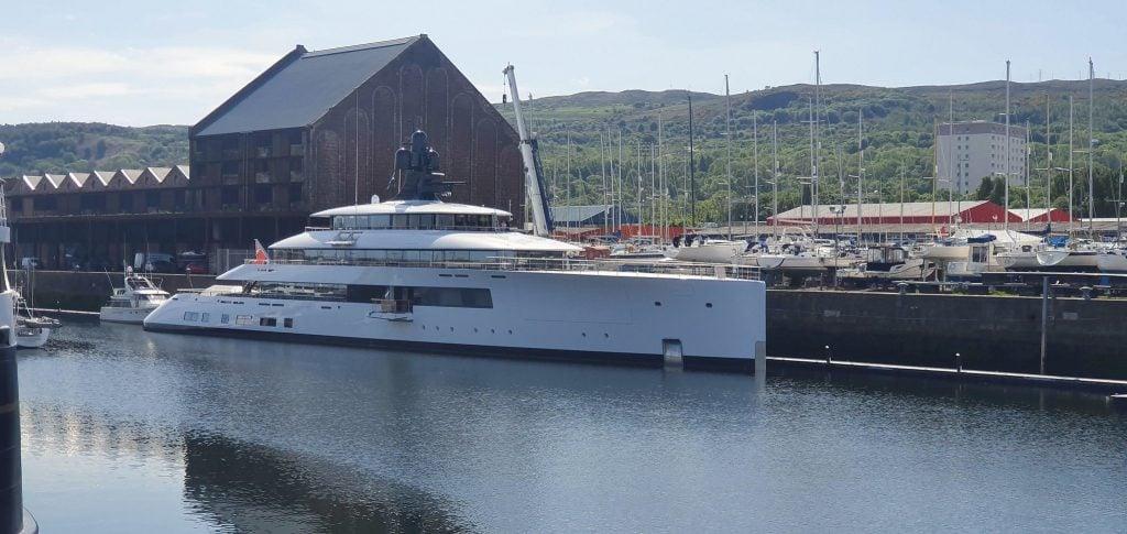 yacht Pi - Feadship - 2019 - Howard Schultz