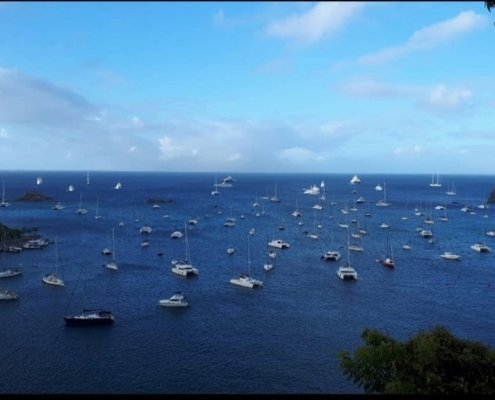 yachts in St Barts 2020