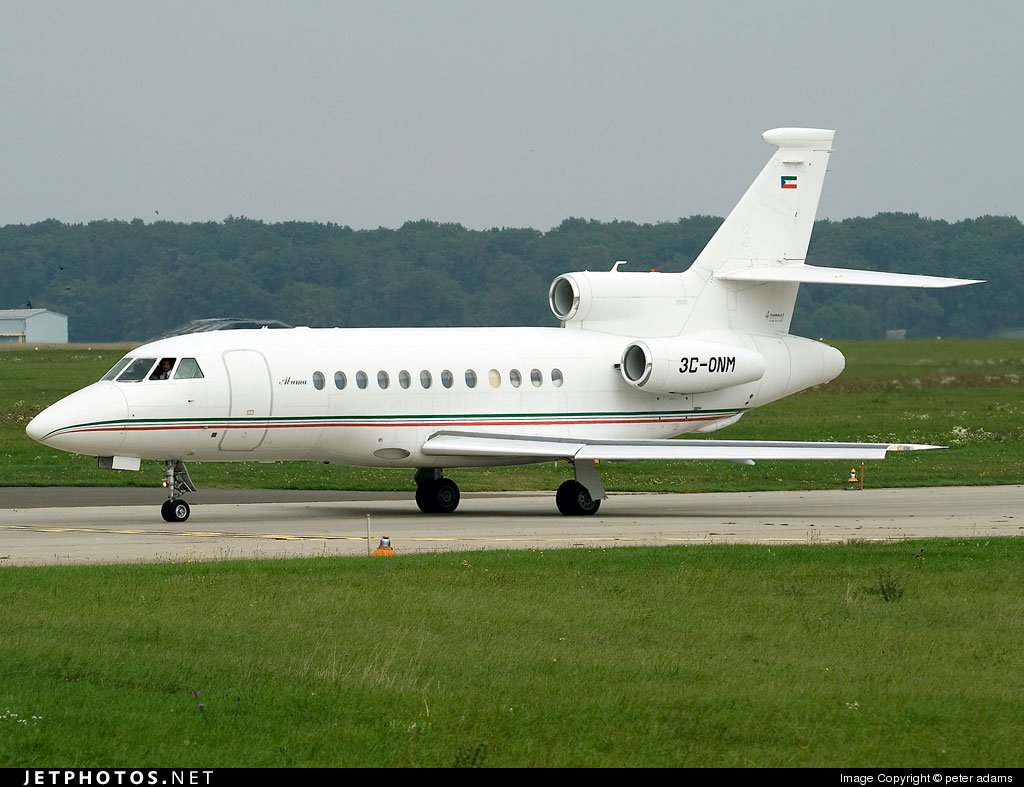 3C-ONM – Dassault Falcon 900 – Obiang Mangue