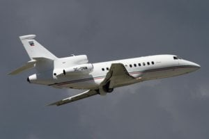 3C-ONM Dassault Falcon Obiang Mangue