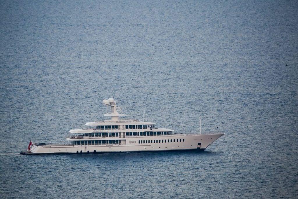 Marc Cuban Yacht Fountainhead