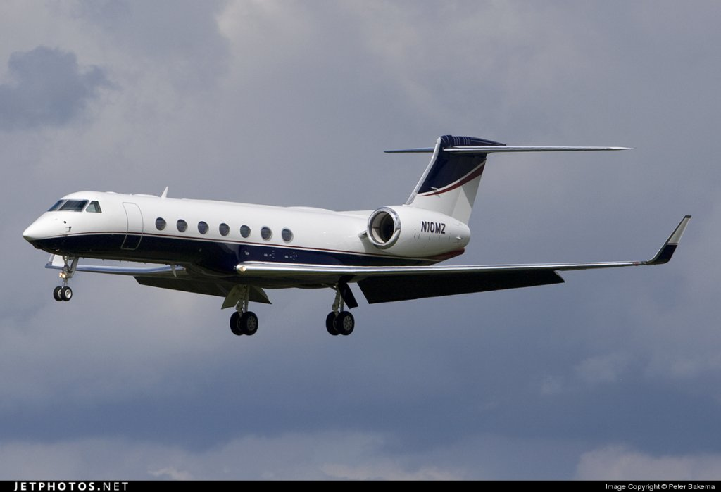 N10MZ G550 Mortimer Zuckerman private jet