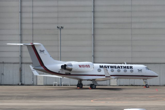 N151SD Gulfstream GIV Floyd Mayweather private jet