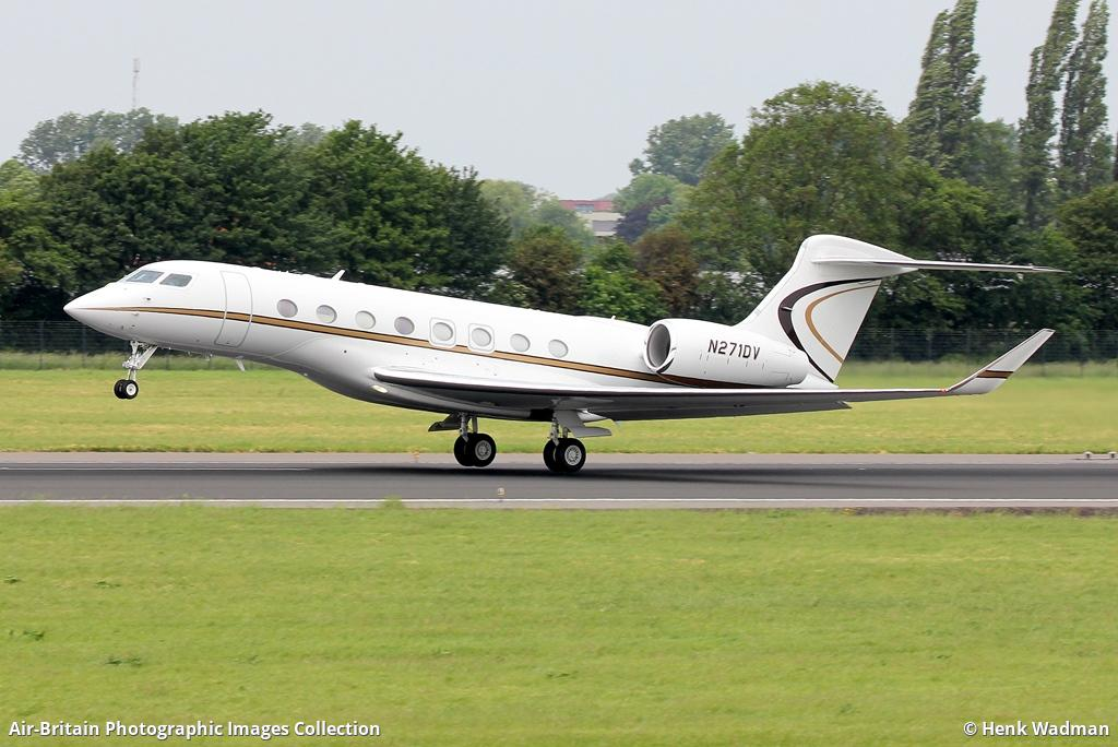 N271DV G650 Jeff Bezos private jet