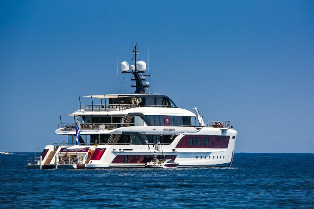 Quinta Essentia yacht – 55m – Admiral Yachts