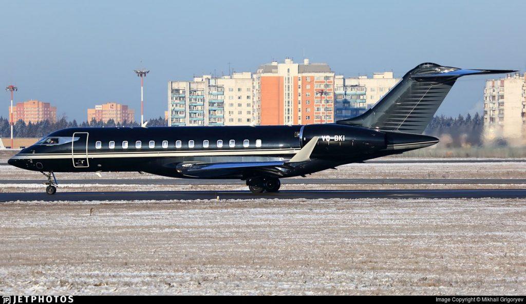 VQ-BKI Bombardier G6000 Igor Kesaev